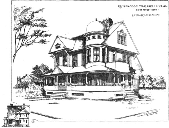 1889 &#8211; House, Bridgeport, Connecticut