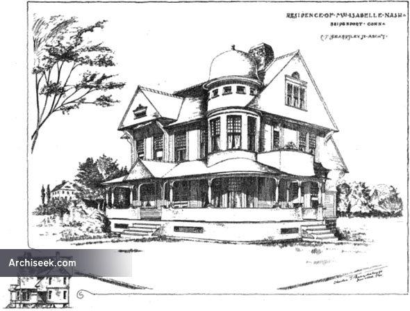 1889 – House, Bridgeport, Connecticut