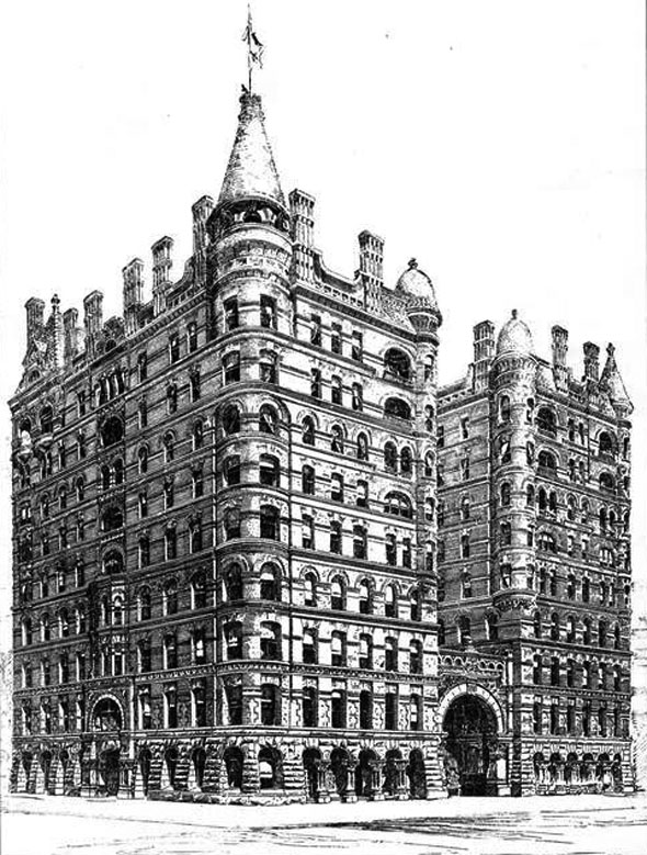 1884 – Pullman Building, Chicago, Illinois