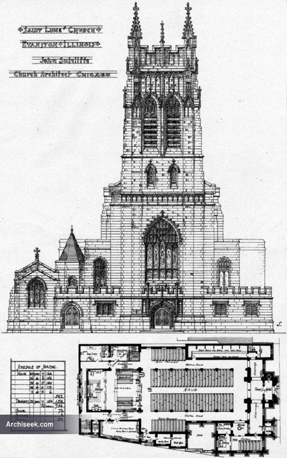 1906 – St. Lukes Church, Evanston, Illinois