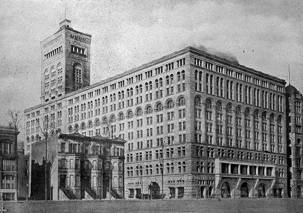 1889 – Auditorium Building, Chicago, Illinois
