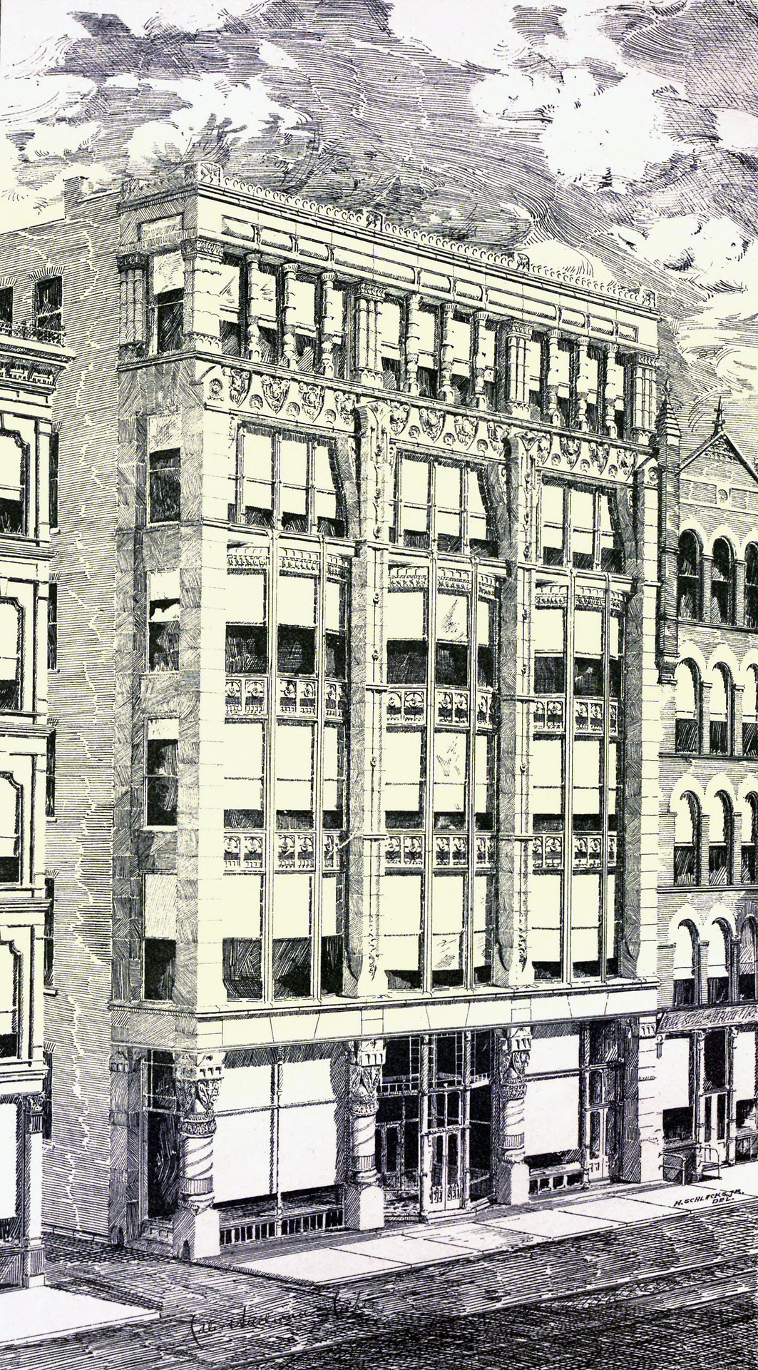 1885c – Ryerson Building, Chicago, Illinois