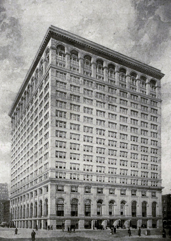 1911 – Continental & Commercial National Bank Building, Chicago