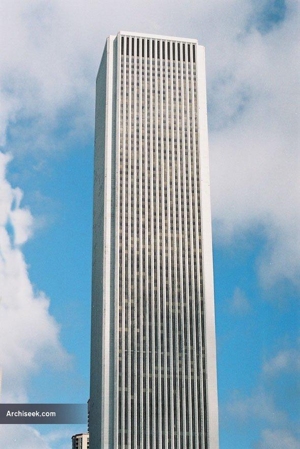 1973 – Aon Center, Chicago, Illinois