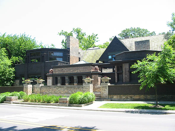 1898 &#8211; Frank Lloyd Wright House &#038; Studio, Oak Park, Chicago