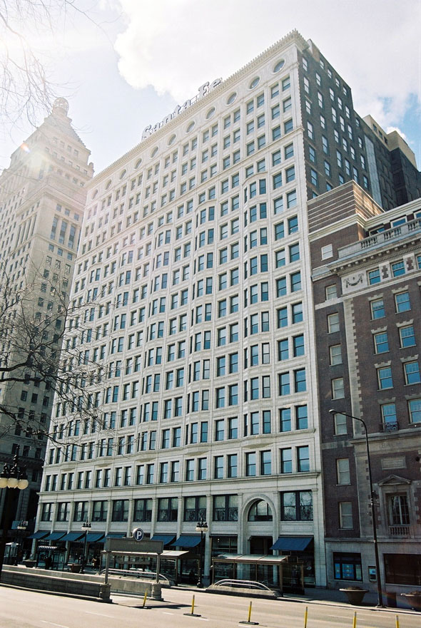 1904 – Santa Fe Building, Chicago, Illinois