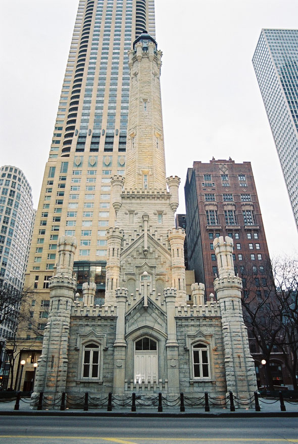 1869 – Water Tower, Chicago, Illinois