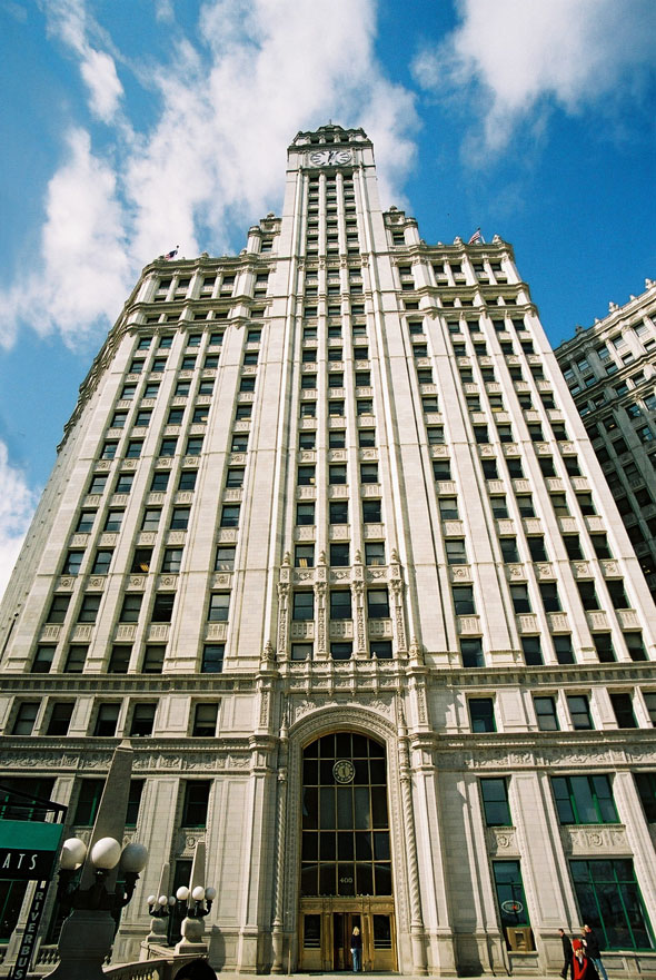 1924 &#8211; Wrigley Building, Chicago, Illinois