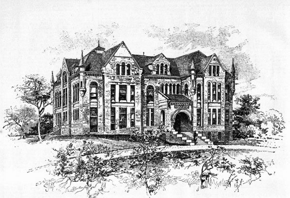 1886 – Snow Hall of Natural History, Topeka, Kansas