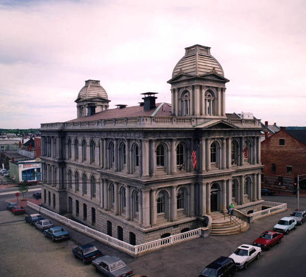 1872 &#8211; Custom House, Portland, Maine