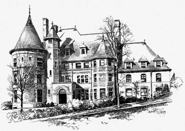 1892 – Residence, Brookline, Massachusetts
