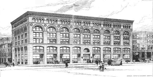 1889 &#8211; Ames Building, Boston, Massachusetts