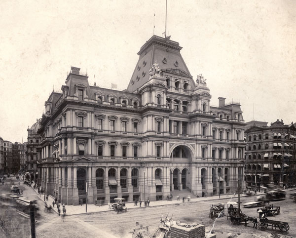 1873 &#8211; Post Office and Sub-Treasury Building Boston, Massachusetts