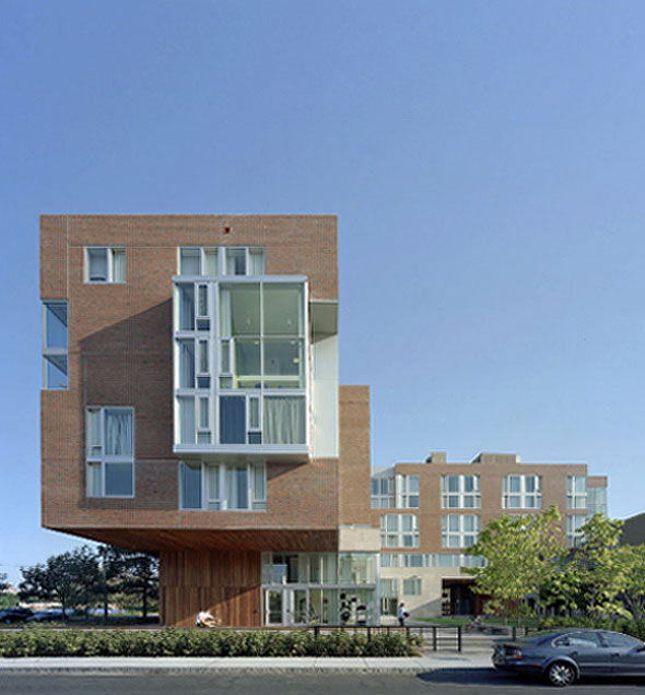 2008 – Graduate Student Residence, Cambridge, Massachusetts