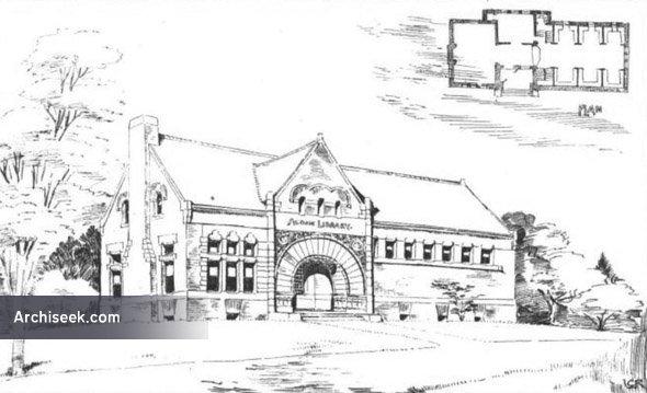 1889 – Memorial Library, Acton, Massachusetts