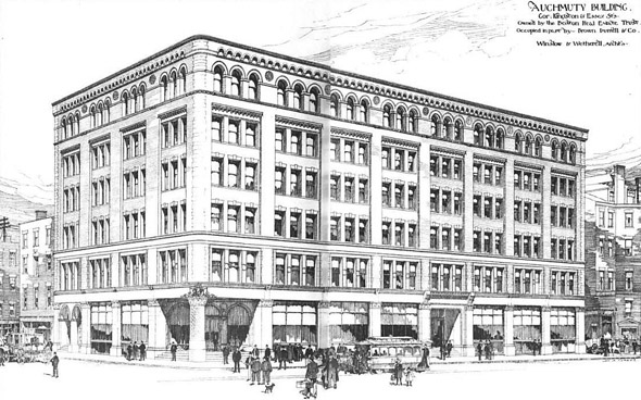 1889 – Auchmuty Building, Boston, Massachusetts