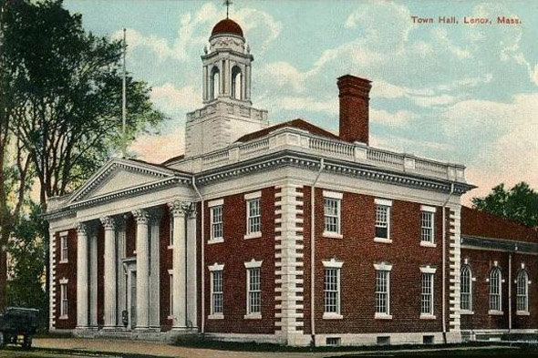 1901 &#8211; Town Hall, Lenox, Massachusetts