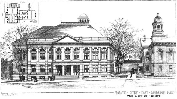 1889 – Probate Office, Cambridge, Massachusetts
