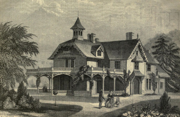 1861 &#8211; Villa, Worcester, Massachusetts