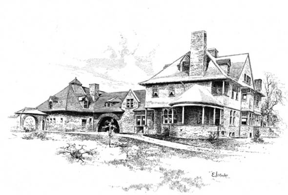 1892 – Residence, Detroit, Michigan