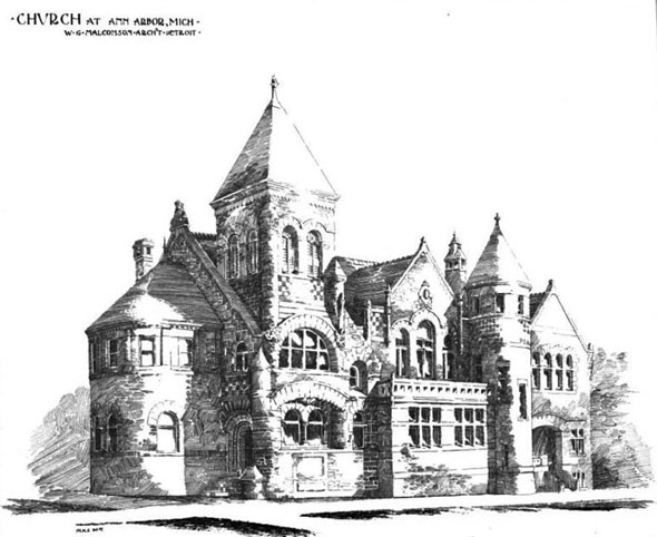 1889 &#8211; Church, Ann Arbor, Michigan