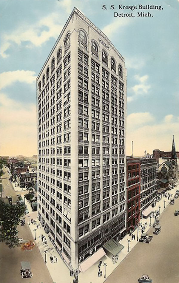 1914 – Kales Building, Detroit, Michigan