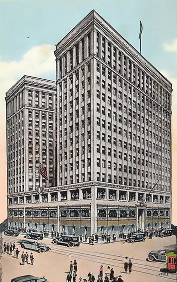 1923 – Lafayette Building, Detroit, Michigan