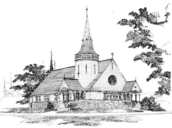 1892 –  Swedenborgian Church, St. Paul, Minnesota