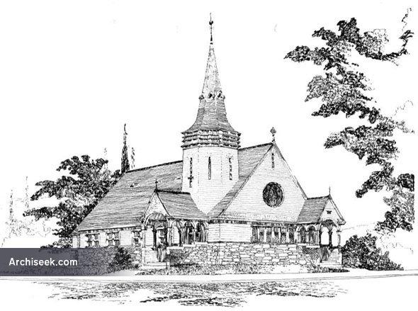 1892 –  Swedenborgian Church, St. Paul, Minnesota