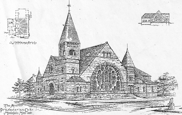 1887 – Andrew Presbyterian Church, Minneapolis, Minnesota
