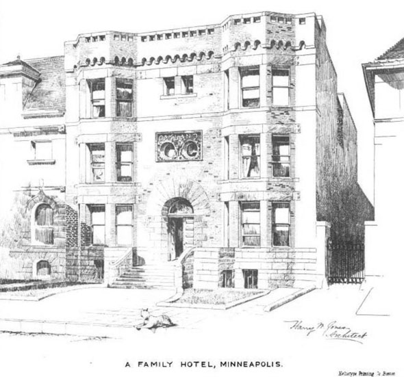 1889 – Small Hotel, Minneapolis