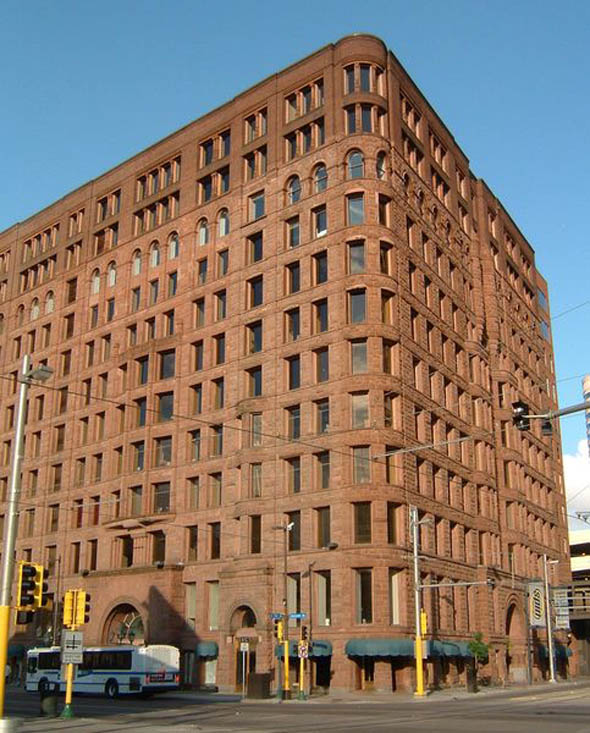 1885 – Lumber Exchange Building, Minneapolis