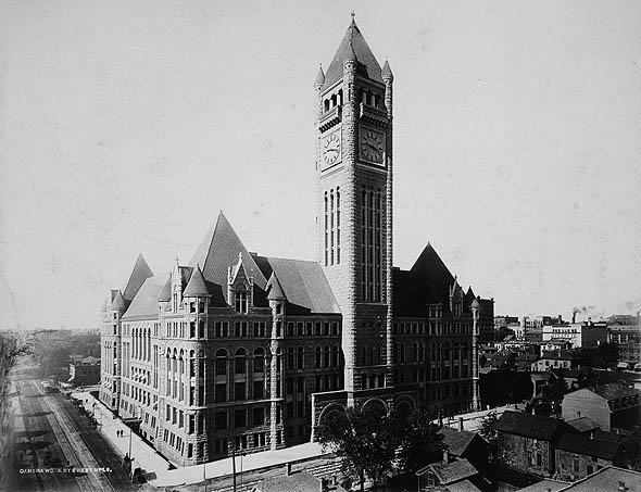 1909 – Minneapolis City Hall, Minnesota
