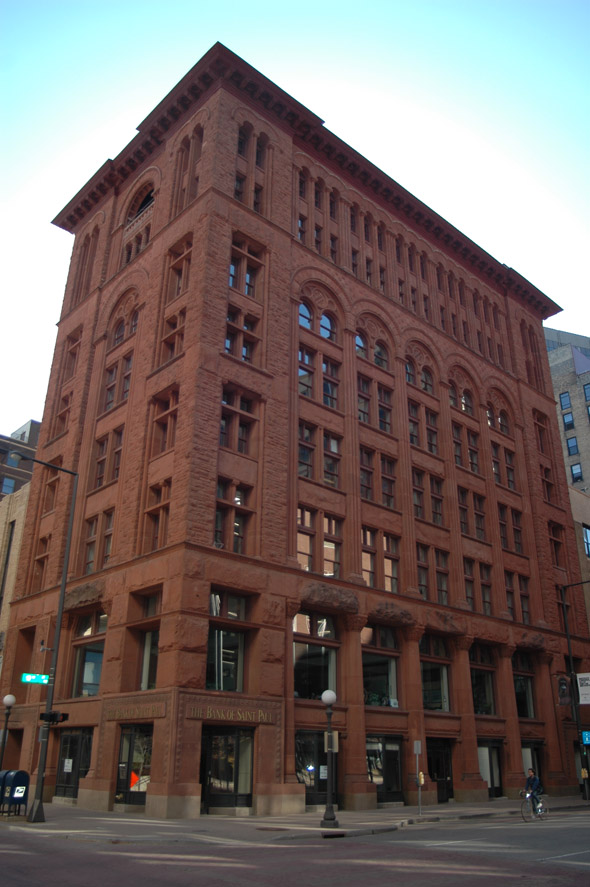 1888 &#8211; Bank of St. Paul Building, St. Paul, Minnesota