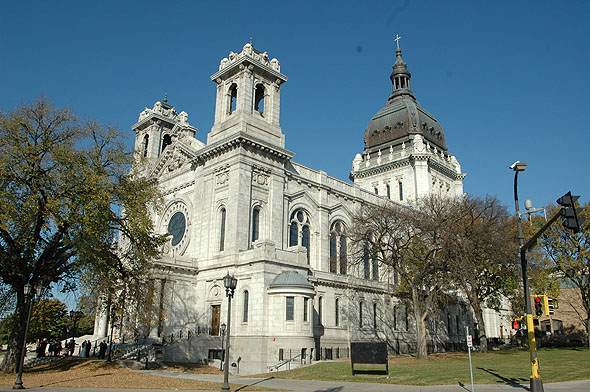 1915  St. Marys Basilica, Minneapolis, Minnesota