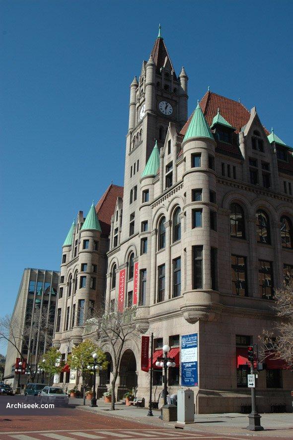 1902 Landmark Center St Paul Minnesota Archiseek