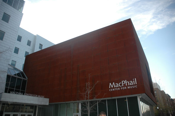 2008 – MacPhail Center for Music, Minneapolis