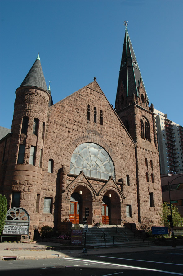 1890 – Central Presbyterian Church, St. Paul, Minnesota
