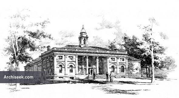 1892 – Rutgers College, New Brunswick, New Jersey
