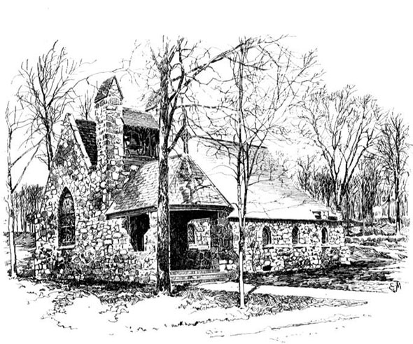 1892 &#8211; Church, Short Hills, New Jersey