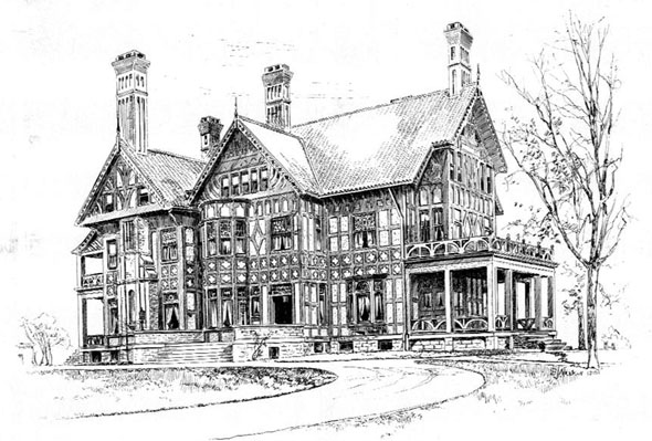 1892 &#8211; Residence, Morristown, New Jersey