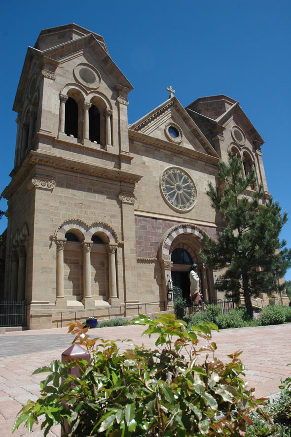 1884 – St. Francis Cathedral, Santa Fe, New Mexico