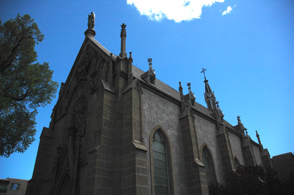 1878 &#8211; Loretto Chapel, Santa Fe, New Mexico