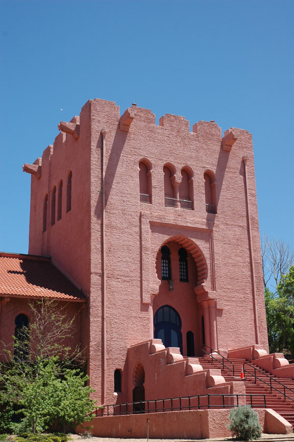1911 &#8211; Scottish Rite Masonic Temple, Santa Fe, New Mexico