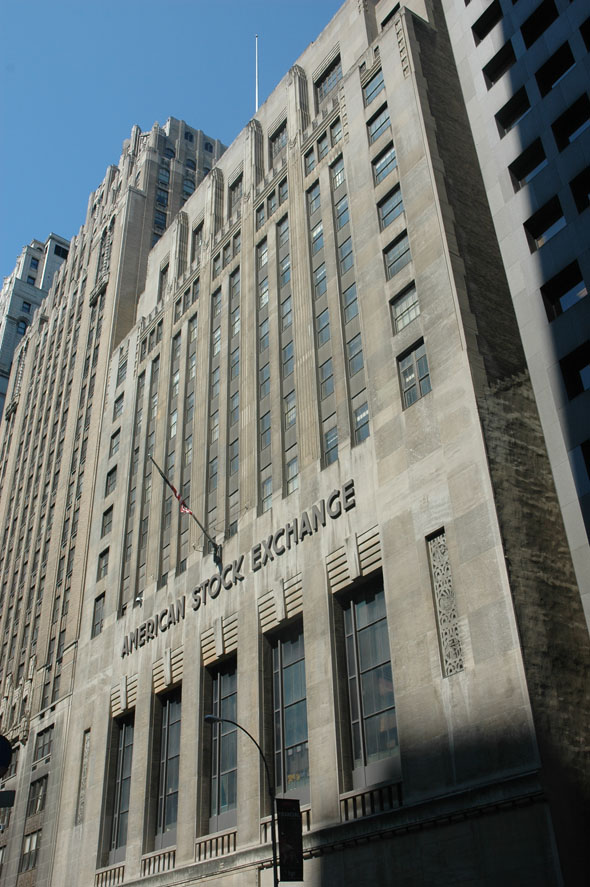 1931 &#8211; American Stock Exchange, New York