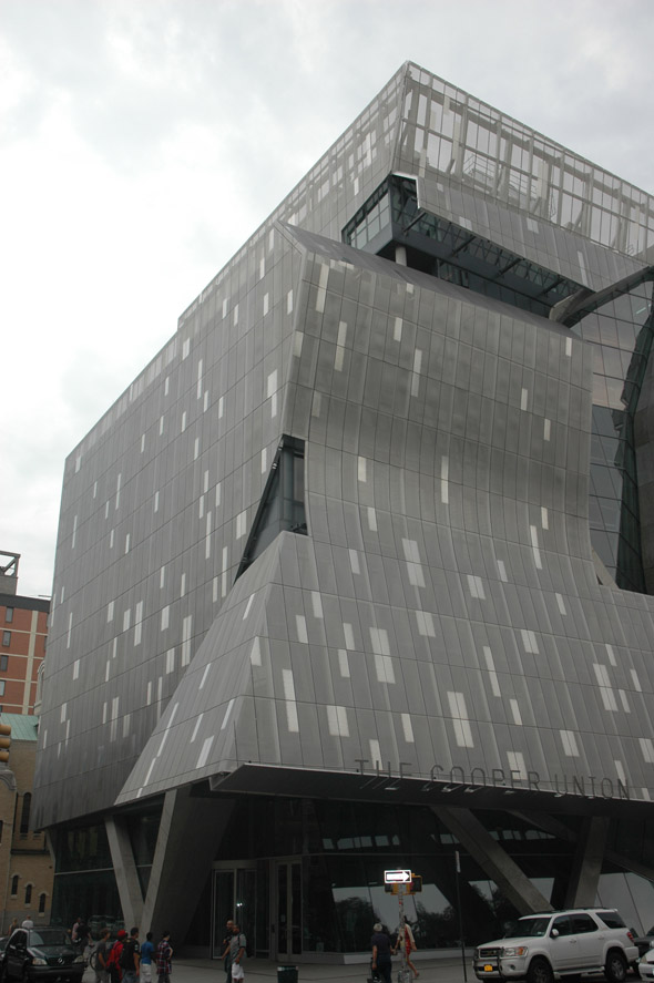 2009 &#8211; New Academic Building, Cooper Union, New York