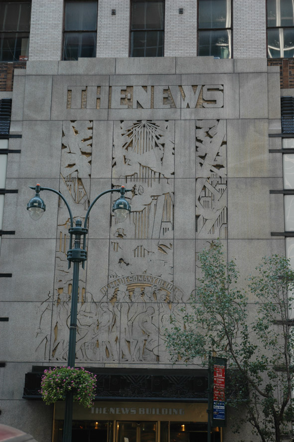 1929 – Daily News Building, New York
