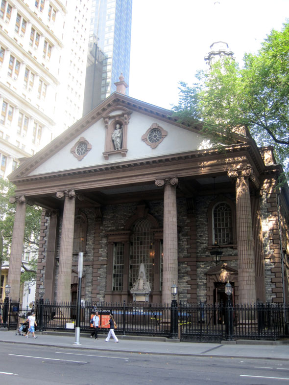 1766 – St. Paul's Chapel, New York