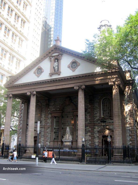 1766 – St. Paul's Chapel, New York