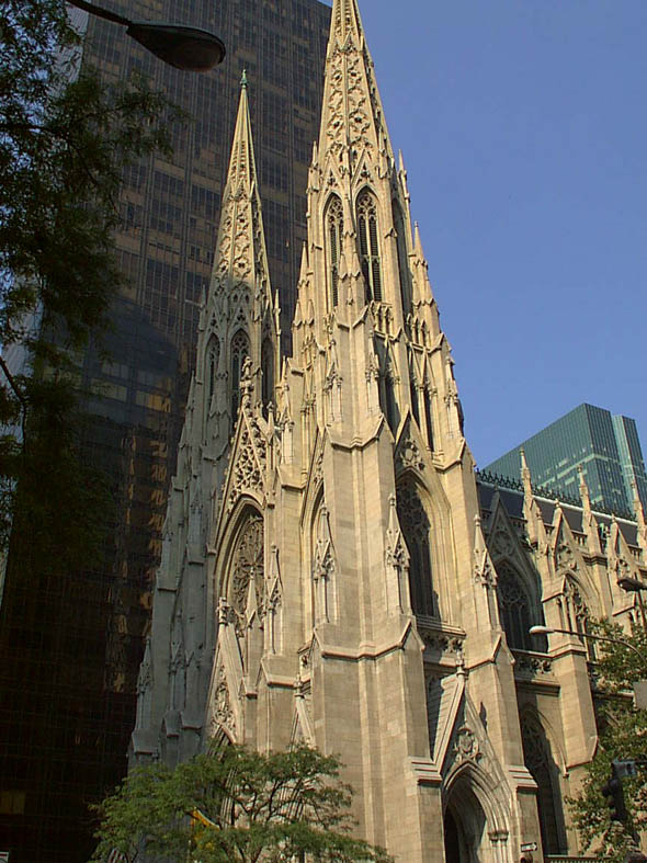 1878 – St Patrick's Cathedral, New York